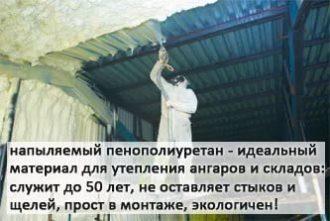 Утепленный ангар Санкт-Петербург
