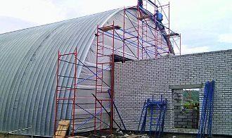 Строительство ангаров в Санкт-Петербурге
