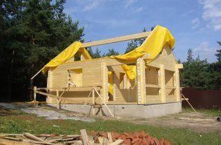 Строительство бани в Гатчине