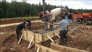 Фото строительства бани в Гатчине