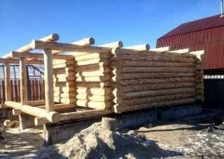 Строительство бань из бревна в Санкт-Петербурге