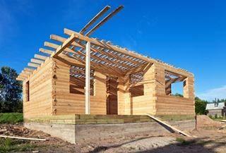Фото строительства бань в Выборге
