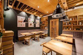 Дизайн интерьера кафе в Санкт-Петербурге
