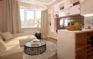 Дизайн трёхкомнатной квартиры в Санкт-Петербурге