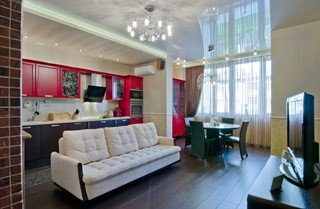 Фото варианты Дизайн трёхкомнатной квартиры в Санкт-Петербурге