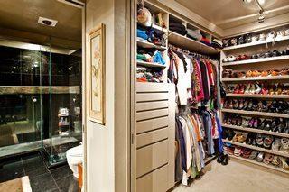 Дизайн гардеробной комнаты в Санкт-Петербурге