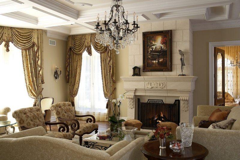 Дизайн интерьера квартиры в Викторианском стиле