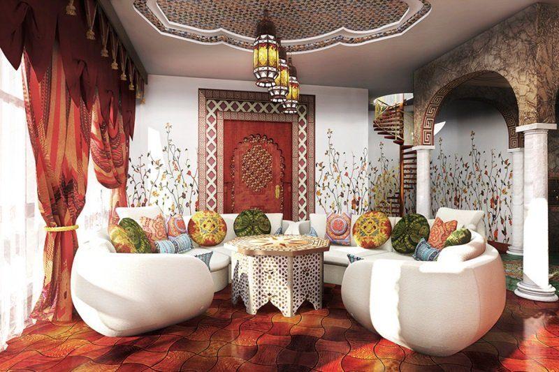 Дизайн интерьера квартиры в Арабском стиле