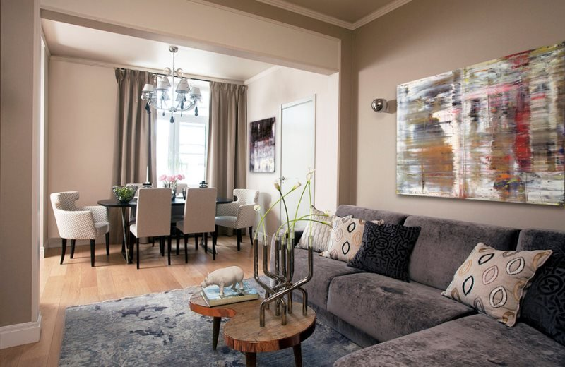 Дизайн интерьера квартиры в стиле Фьюжн