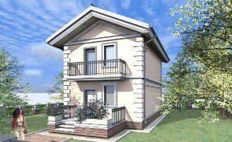 Проекты домов 7х11 из газобетона