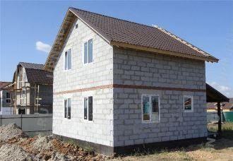 Проекты домов 11х13 из пеноблоков