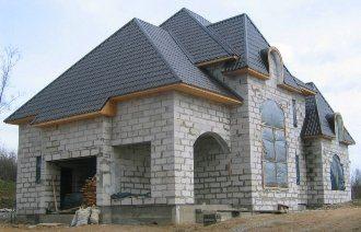 Проекты домов 8х8 из пеноблоков