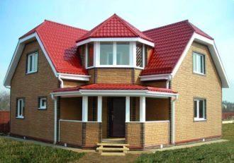 Проекты домов 8х13 из пеноблоков