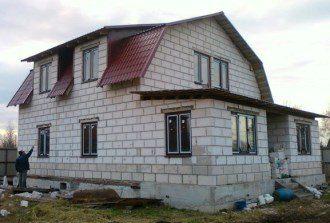 Проекты домов из пеноблоков до 100кв.м