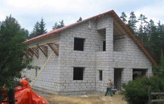 Проекты домов 7х13 из пеноблоков