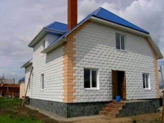 Проекты домов 9х10 из пеноблоков