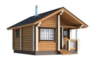 Проекты двухэтажных домов из бревна в Санкт-Петербурге