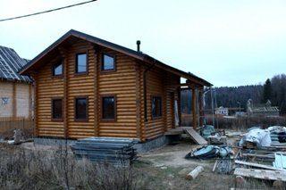 Строительство дома из бревна для постоянного проживания (круглогодичные дома)