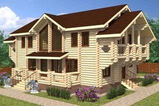 Строительство дома из бревна для постоянного проживания (круглогодичные дома) в Санкт-Петербурге