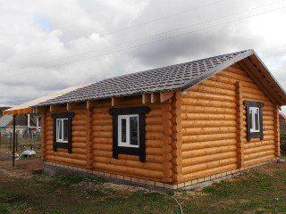 Строительство домов из калиброванного бревна в Санкт-Петербурге