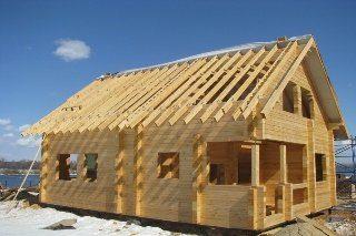 Проекты домов из бруса 6х8