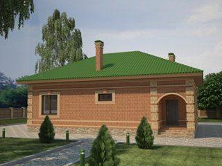 Проекты домов из кирпича до 100 кв.м в Санкт-Петербурге