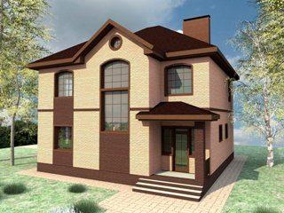 Проекты домов из кирпича до 150 кв.м в Санкт-Петербурге