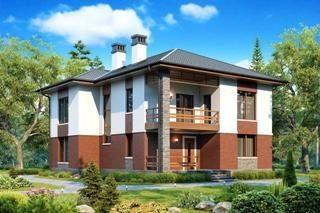 Проекты домов из кирпича до 200 кв.м в Санкт-Петербурге