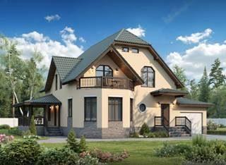 Проекты домов из кирпича до 250 кв.м в Санкт-Петербурге