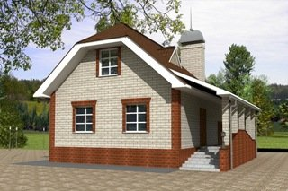 Проекты домов из кирпича 6х7 в Санкт-Петербурге