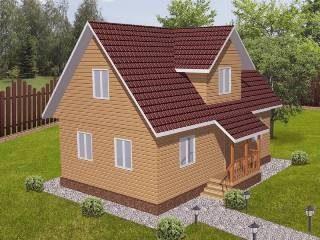 Проекты домов из кирпича 6х9 в Санкт-Петербурге