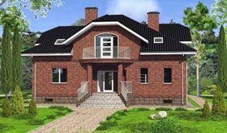 Проекты домов из кирпича 6х10 в Санкт-Петербурге