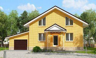 Проекты домов из кирпича 6х12 в Санкт-Петербурге