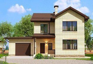 Проекты домов из кирпича 7х10 в Санкт-Петербурге