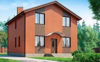 Проекты домов из кирпича 8х8 в Санкт-Петербурге