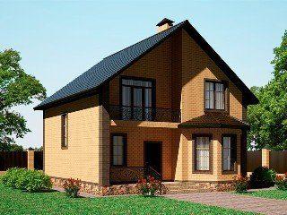 Проекты домов из кирпича 8х9 в Санкт-Петербурге