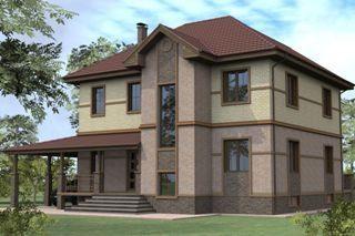 Проекты домов из кирпича 8х10 в Санкт-Петербурге