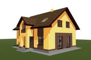 Проекты домов из кирпича 9х12 в Санкт-Петербурге