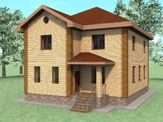 Проекты домов из кирпича 10х10 в Санкт-Петербурге