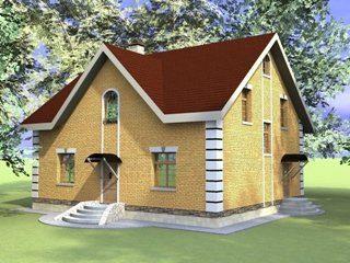 Проекты домов из кирпича 10х12 в Санкт-Петербурге