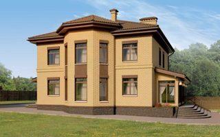 Проекты домов из кирпича 12х12 в Санкт-Петербурге