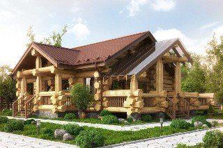 Дома ручной рубки большого диаметра в Санкт-Петербурге