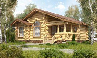 Одноэтажные дома ручной рубки в Санкт-Петербурге