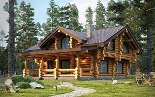 Дома из бревна от производителя в Санкт-Петербурге
