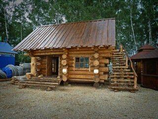 Гостевой дом из бревна в Санкт-Петербурге