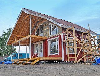 Строительство домов по финской технологии в Санкт-Петербурге под ключ