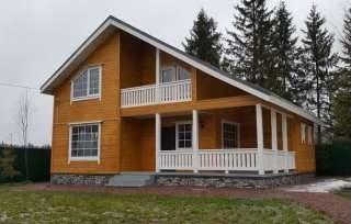 Строительство загородных домов в Тосно под ключ