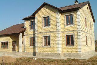 Строительство домов из теплоблока в Санкт-Петербурге под ключ