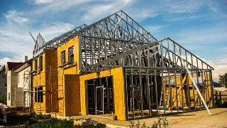 Строительство домов из ЛСТК в Санкт-Петербурге под ключ