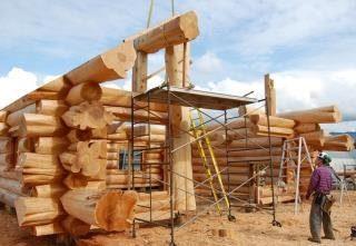 Строительство рубленых домов в Санкт-Петербурге под ключ